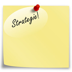 Post-It Strategie!