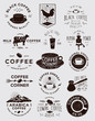Handmade Coffee Badges Collections - 79031316