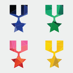 medal icon Abstract Triangle