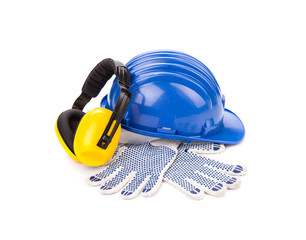 Safety helmet gloves