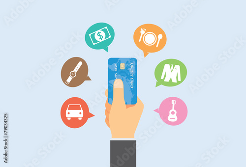 Pay with credit card for buy anything you want. - 79034325
