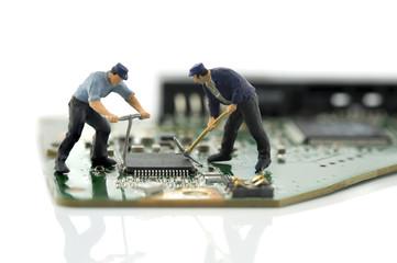 two man repair chips