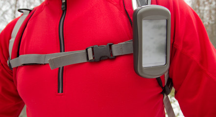 GPS standby to rescue of hiker