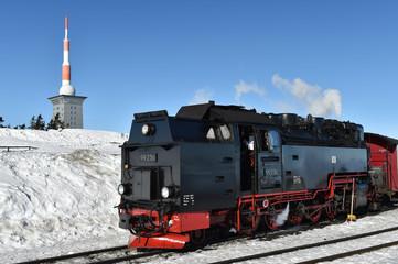 Zugfahrt zum Brocken