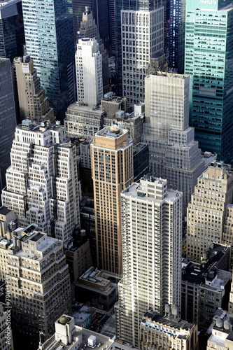 New-York vue aerienne de Manhattan - 79035731