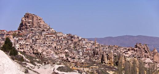 Hillside Homes in Cappadocia Turkey.