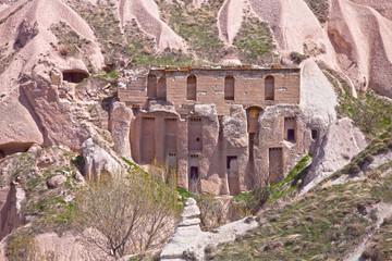 Rock Home in Cappadocia Turkey