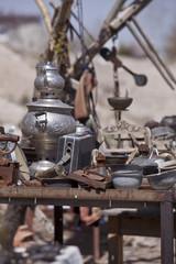 Table of Trinkets in Cappadocia Turkey