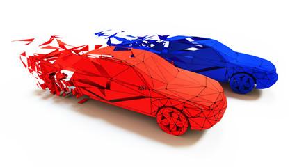 car race concept