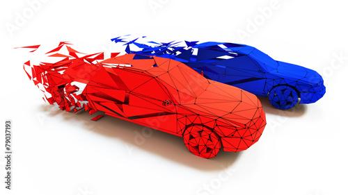 car race concept © victor zastol'skiy