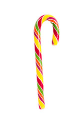 Colorful candy christmas sticks