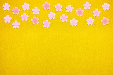 桜花の背景