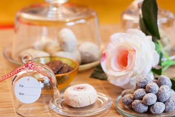 italian cookies - Italienische Kekse und Nüsse