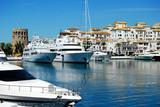 Puerto Banús, muelle, Marbella, Málaga