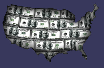 USA made from dollars