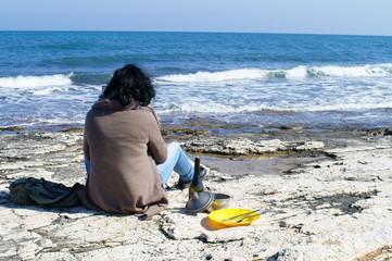 Una giornata in riva al mare