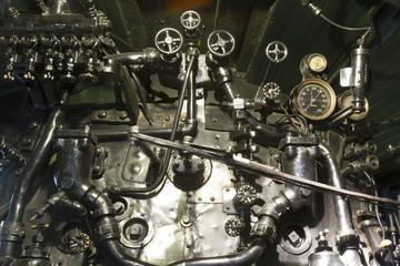 Antique Locomotive Steam Engine
