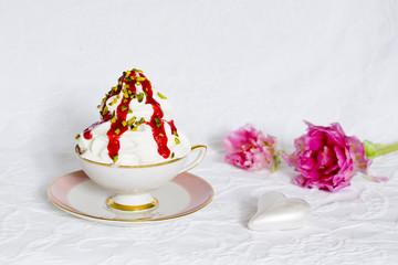 Frozen Yoghurt mit Herz