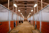 Horse Barn Animal Sport Paddock Equestrian Ranch Racing Stable - 79043556