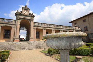 villa caruso villa medicea padronale architettura rurale