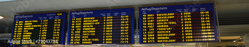 Leinwanddruck Bild Airport