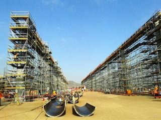 Construcción de edificios de concreto