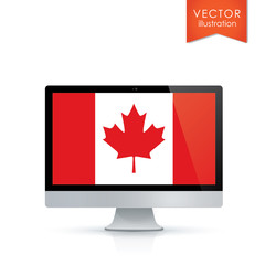 Canadian flag, Canadian technology