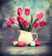 Still life. Tulip