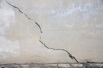 mur fissuré