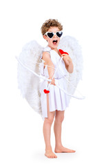singing cupid kid