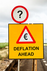 Euro Deflation ahead