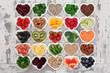 Leinwandbild Motiv Detox Diet Food