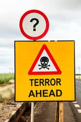 Terror ahead