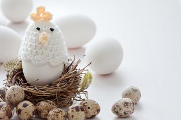 Ostereier und Dekoratoion
