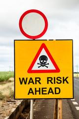 war risk ahead II