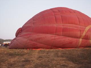 Globos aerostaticos sobre Bagan (Myanmar)