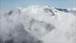 Winter in den Alpen Europas