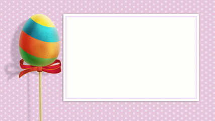 Easter background with an Egg loopable
