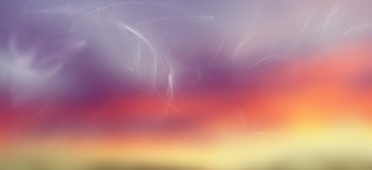 Abstract purple, pink and yellow background