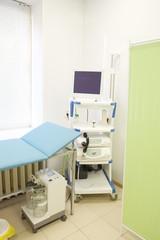 Endoscopic room. Video endoscope