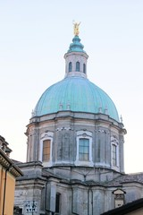 dome of the cathedral of Lonato, Brescia, Lombardy, Italy