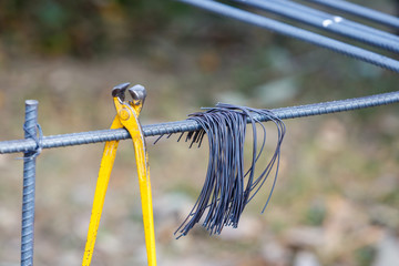 steel wire for construction job