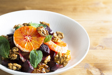 Orange Walnut Salad