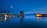 the port of Nafpaktos in Greece - 79056774