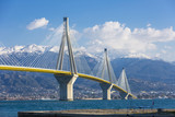 The Rio Antirrio bridge in Greece - 79058152