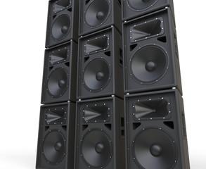 Huge loudspeakers