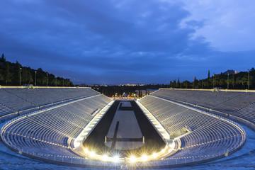 The Panathenaic Stadium in Athens,Greece