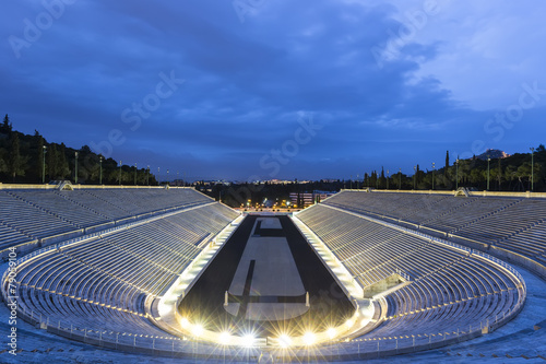 Plexiglas Athene The Panathenaic Stadium in Athens,Greece
