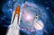 Space Shuttle Astronaut Rocket