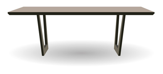 Wooden table for home and office